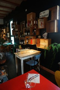 salle restaurant le toit vert fitou