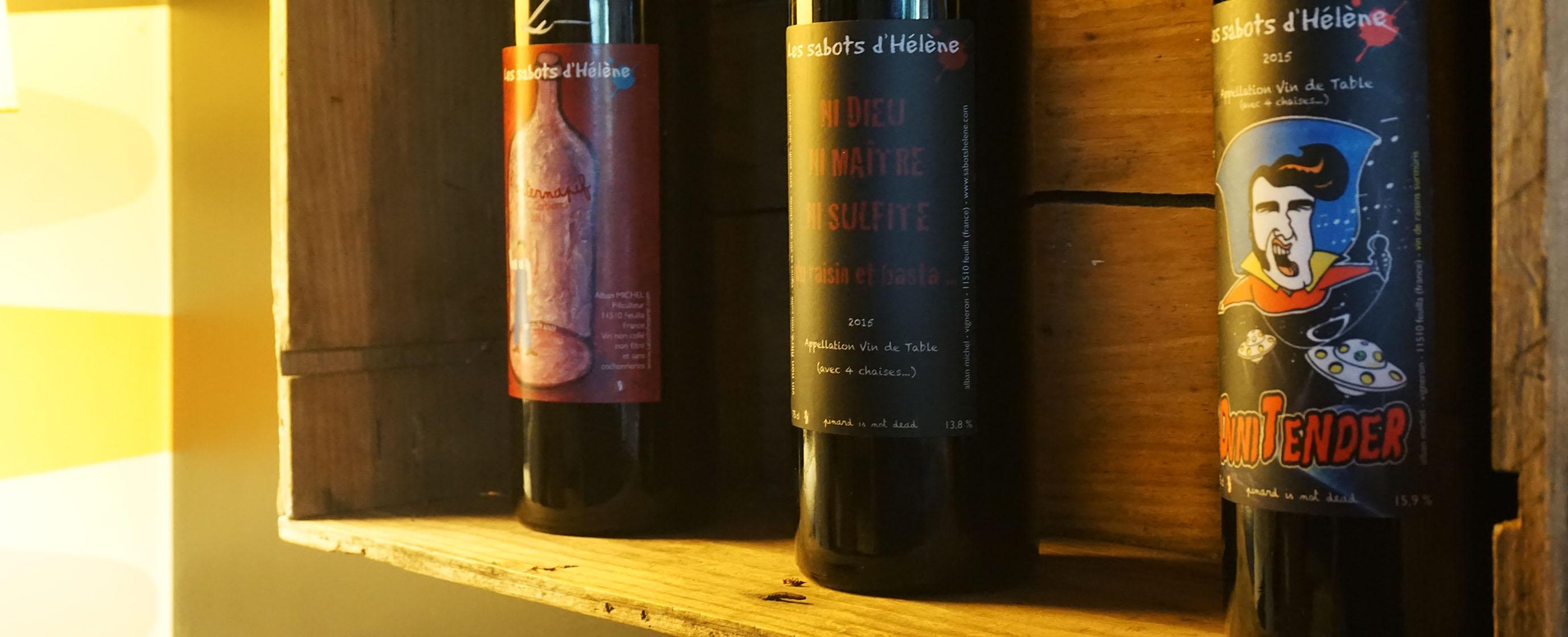 vin nature, alternatif